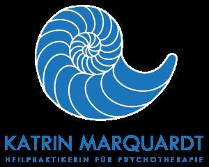 Muschel Logo mit Schriftzug Katrin Marquardt